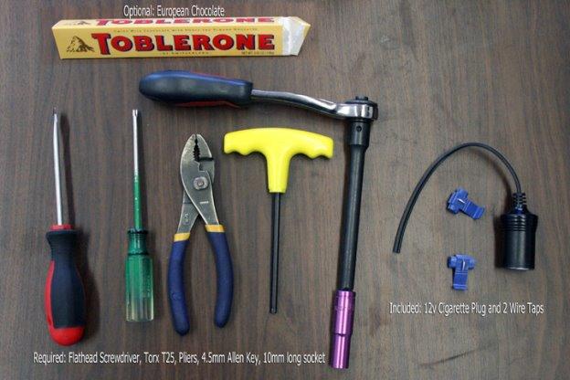 Hidden Wiring Kit for Fiat on