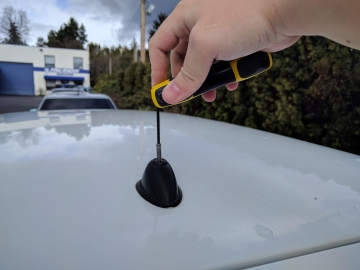The Stubby Antenna Installation Guide